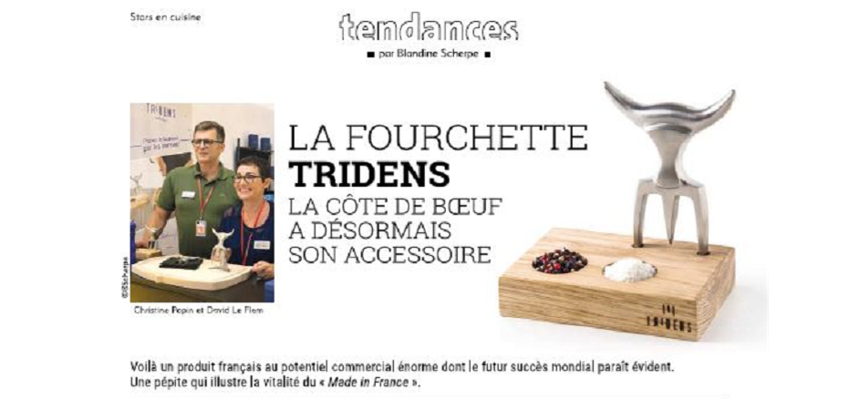 La Fourchette Tridens dans le magazine Home Fashion News