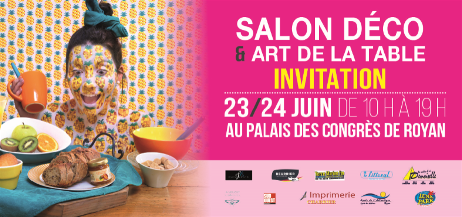 Tridens exhibits at decoration and tableware  show in  Royan 23 and 24 june 2018